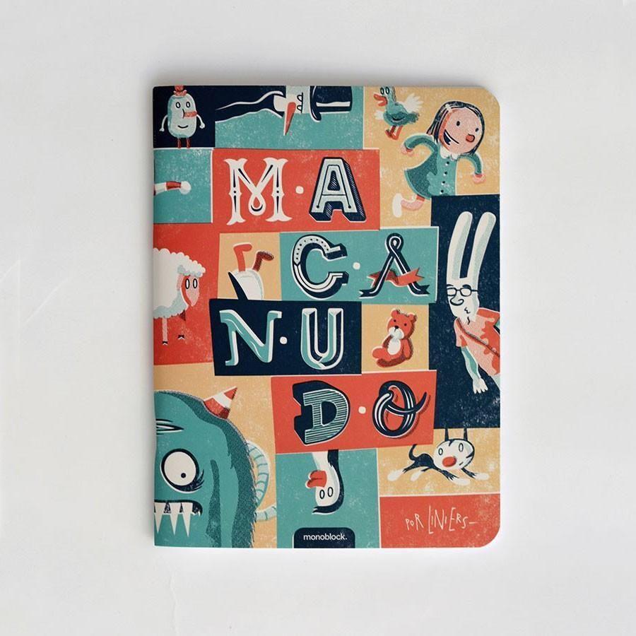 """Cuaderno Liniers """"Macanudo Vintage"""""""