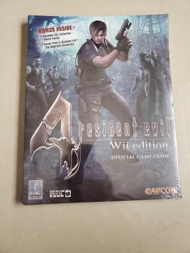 Guia Resident Evil 4 Wii Edition Nueva Y Sellada