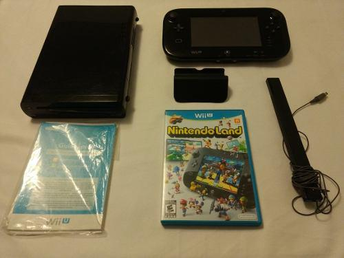 Nintendo Wii U 32gb + 2 Juegos