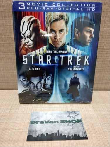 Star Trek Colección Trilogía Blu Ray Película Stock
