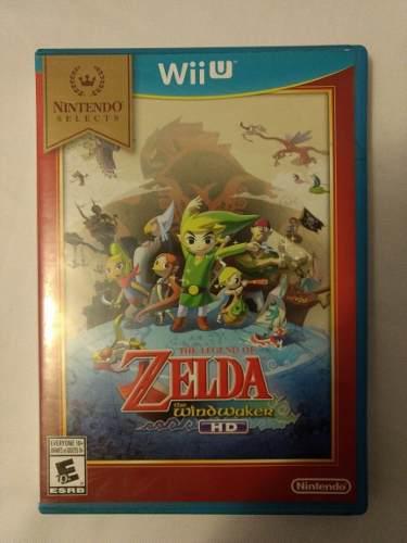 The Legend Of Zelda The Windwaker Hd Nintendo Wii U