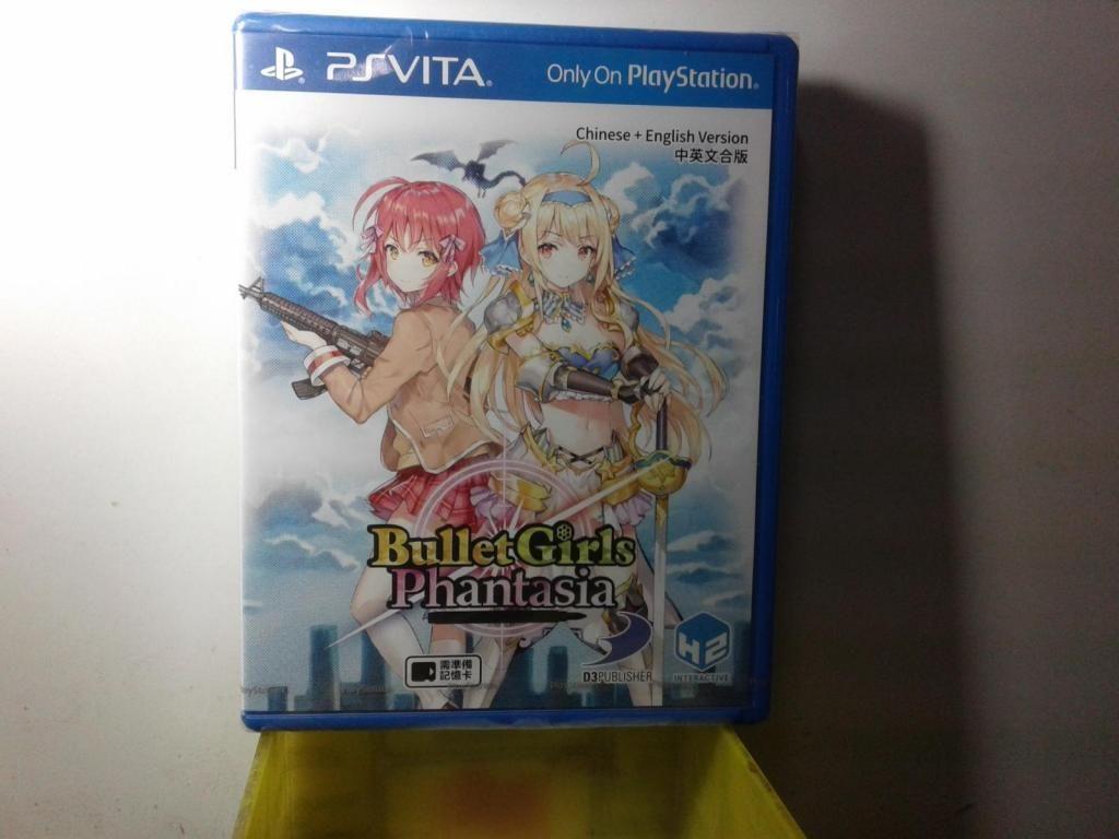 PSVita Bullet Girls Phantasia Nuevo sellado juego para PS