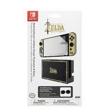 Skin y Protector de pantalla de Zelda para Nintendo Switch