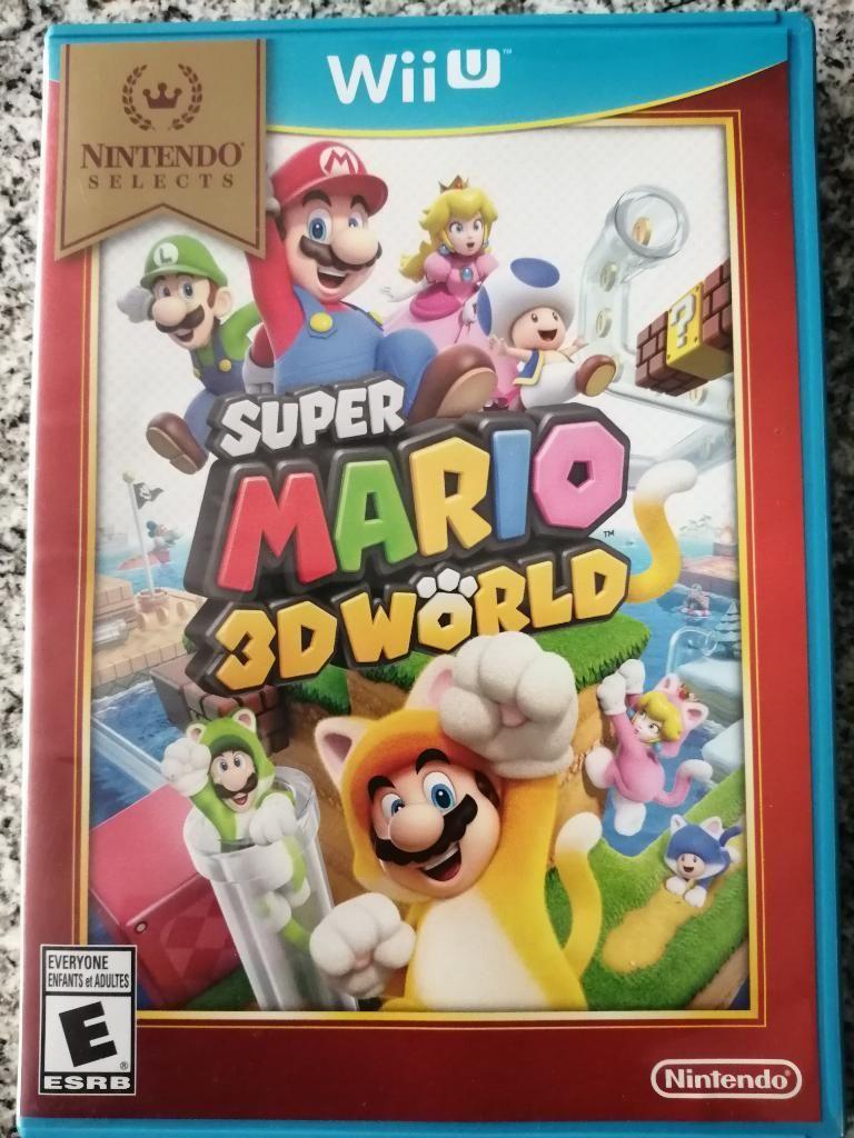 Super Mario 3d World Wii U