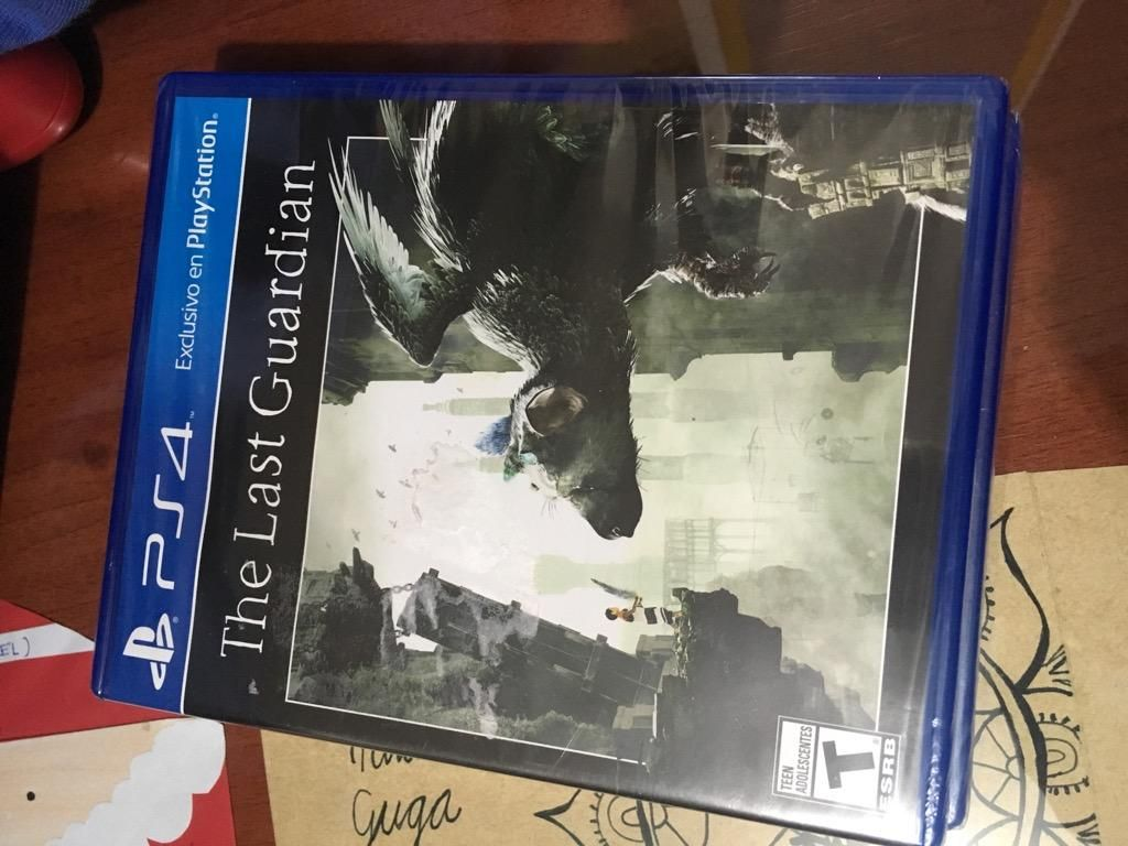 The Last Guardian Ps4 Nuevo Y Sellado