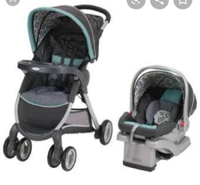 Vendo Coche Y Silla de Carro para Bebé
