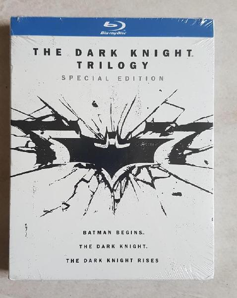 Blu Ray Batman The Dark Knight Trilogía