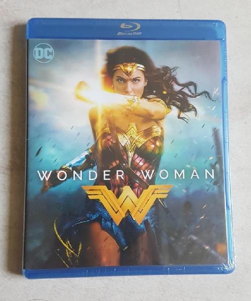 Blu Ray Wonder Woman / Mujer Maravilla (Original, Nuevo y