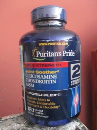 Glucosamine Chondroitin Msm Marca Americana 180 Unidad