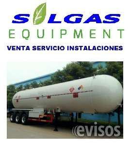 Tanque cisterna para gas en Lima