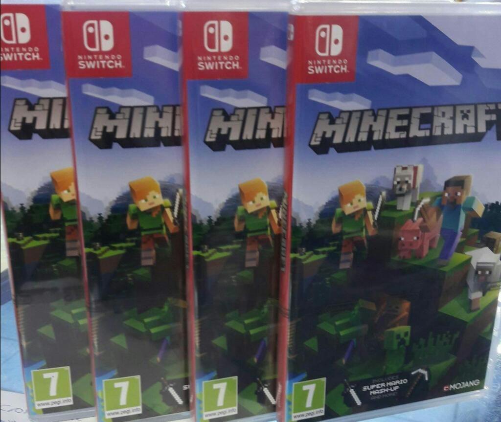 Minecraft Nintendo Switch Nuevo Sellado Stock