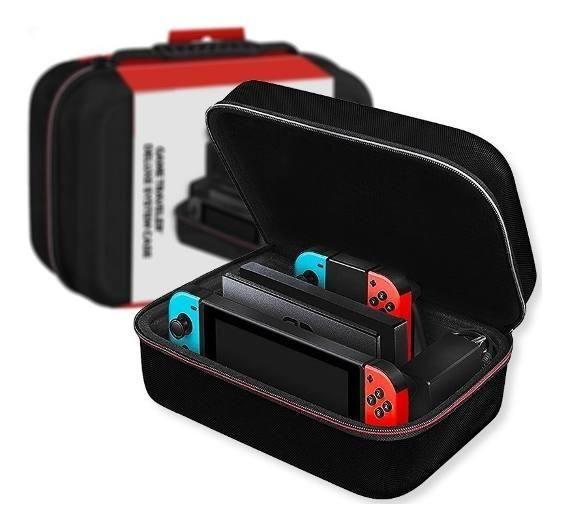 Nintendo Switch Rojo Azul Neon Mario Odysseymario