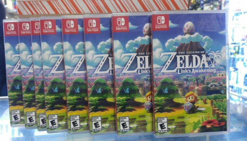 Zelda Links Awakening Nintendo Switch Nuevo Sellado Stock