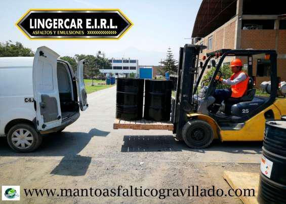 En venta asfalto rc-250 y mc-30 en Lima