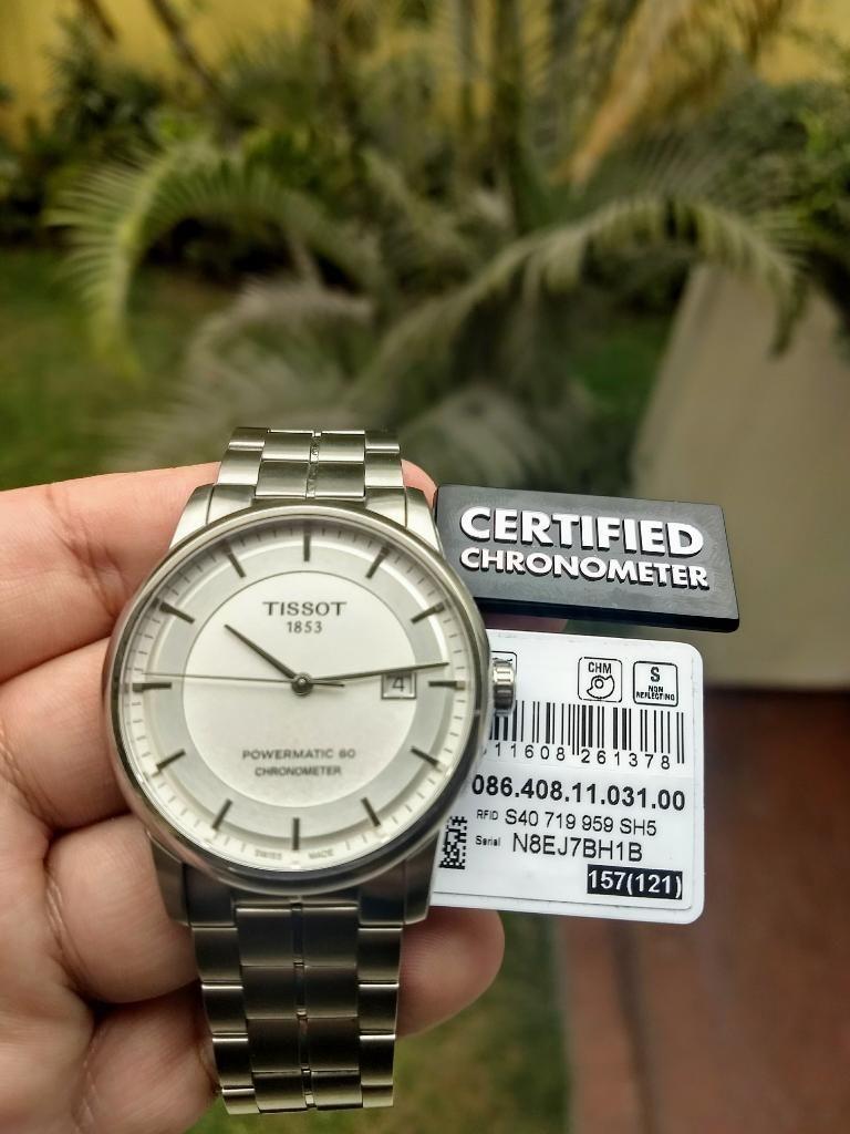Reloj Tissot Luxury Powermatic 80 Chrono