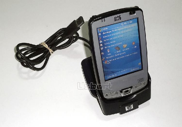 Agenda HP iPaq hx2190b con accesorios, en buen estado y