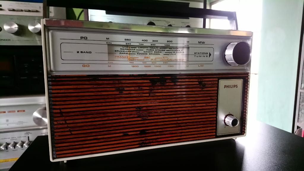 Antigua Radio Philips Transistores Am