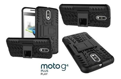 Carcasa Case Protector Motorola G4 Play Anti Golpes Robot