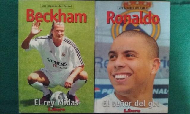 """Colección de libros biográficos """"Los grandes del fútbol"""""""