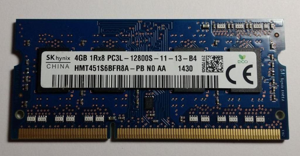 Memoria Ram 4gb Ddr3 Para Laptop Bus