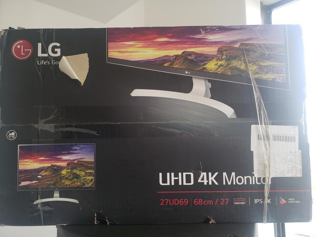 Monitor 4k Lg 27ud69 Nuevo