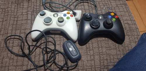 Mandos Xbox Con Adaptador Para Pc