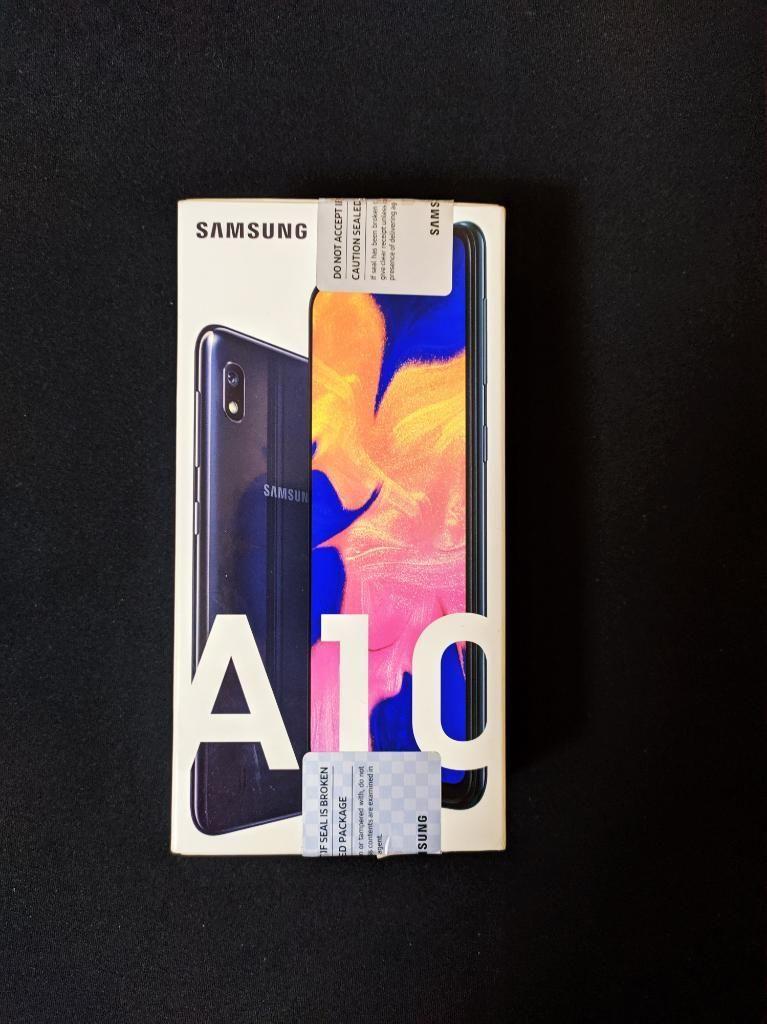Vendo Galaxy A10 Nuevo en Caja