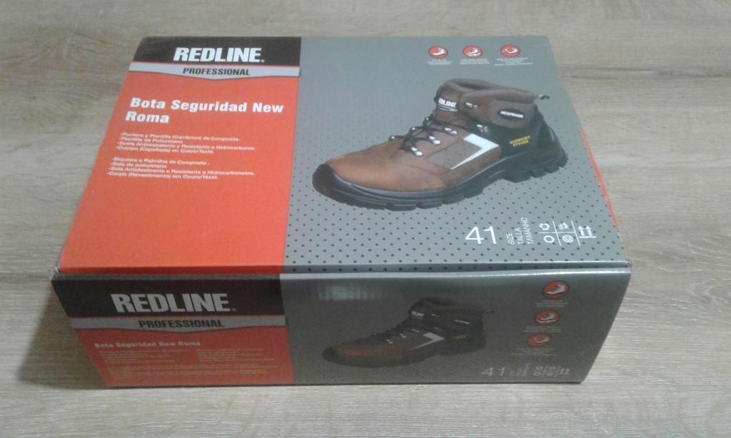 Zapato de Seguridad REDLINE