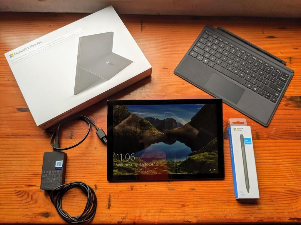 Microsoft Surface Pro 6 - I5 - 8gb Ram - 256gb - Negra -