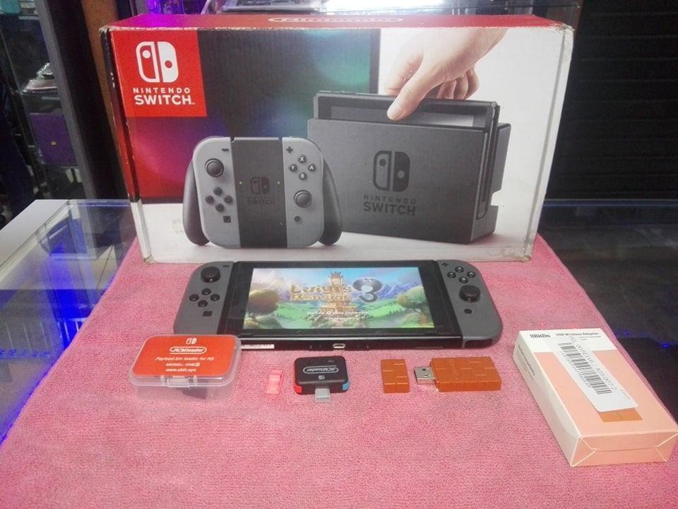 Nintendo Switch Flasheado 64Gb RCMloader y 8bitdo Como Nuevo