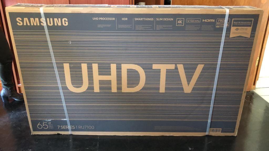 """Tv Samsung 65"""" Ru - Nuevo"""