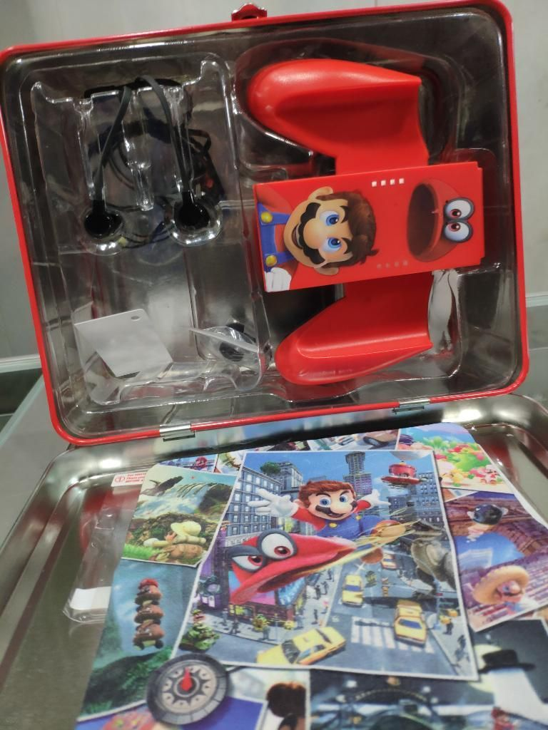 Super Mario Odyssey Lonchera Metal