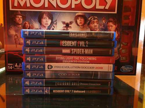Juegos Ps4 - Days Gone Spider-man Resident Evil Pes