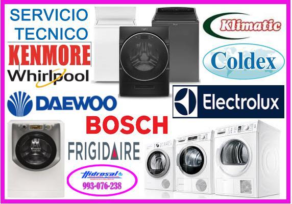 Servicio tecnico de lavadoras y mantenimientos 993076238