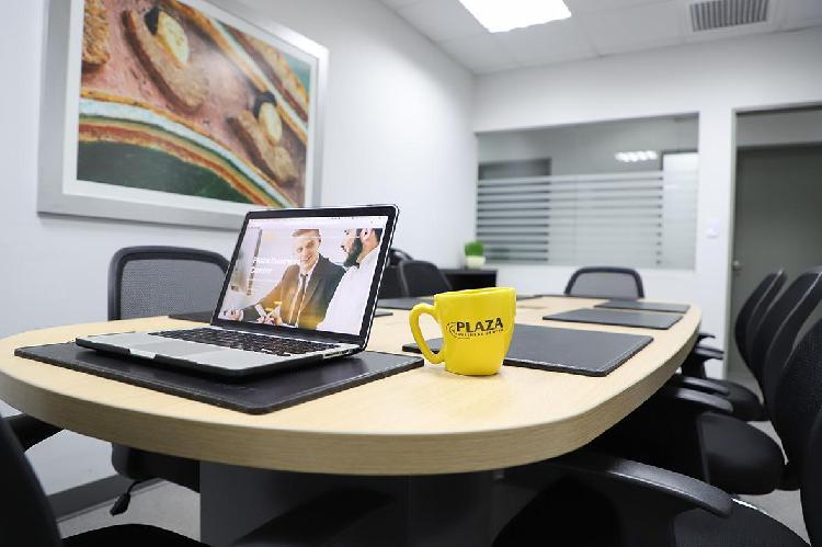 Alquiler de Oficinas Amobladas en La Mejor Zona de