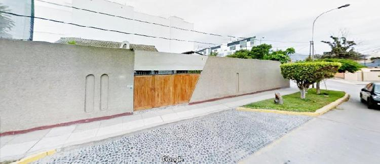 San Borja - Venta de Terreno Zona Chacarilla