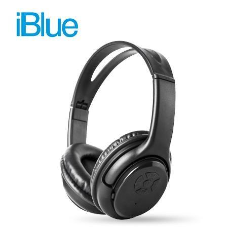 AUDIFONO IBLUE STEREO BASS BLUETOOTH BLACK