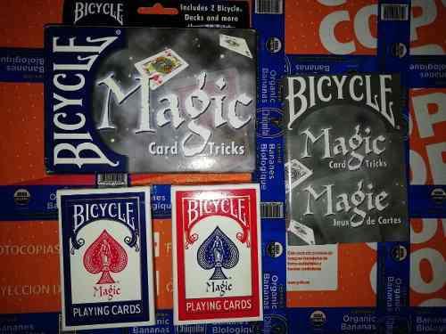 Cartas Bicycle - Cartas Para Trucos De Magia - Dos Mazos