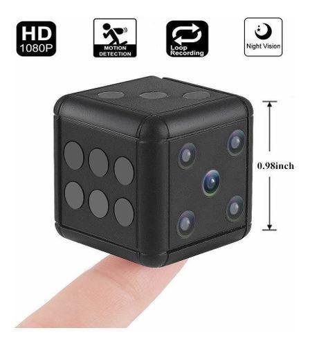 Mini Camara Oculta Dado Sq16 Full Hd Video