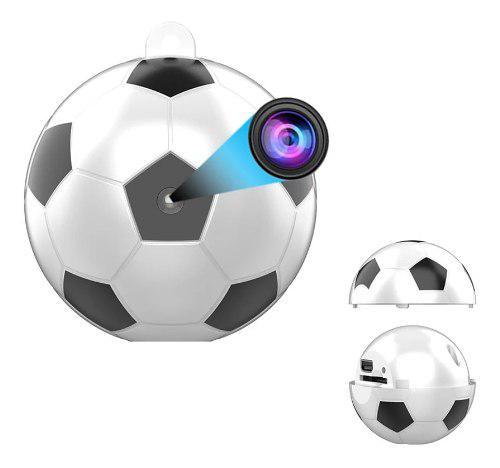 Mini Cámara Espía En Forma De Balón O Pelota, Full Hd