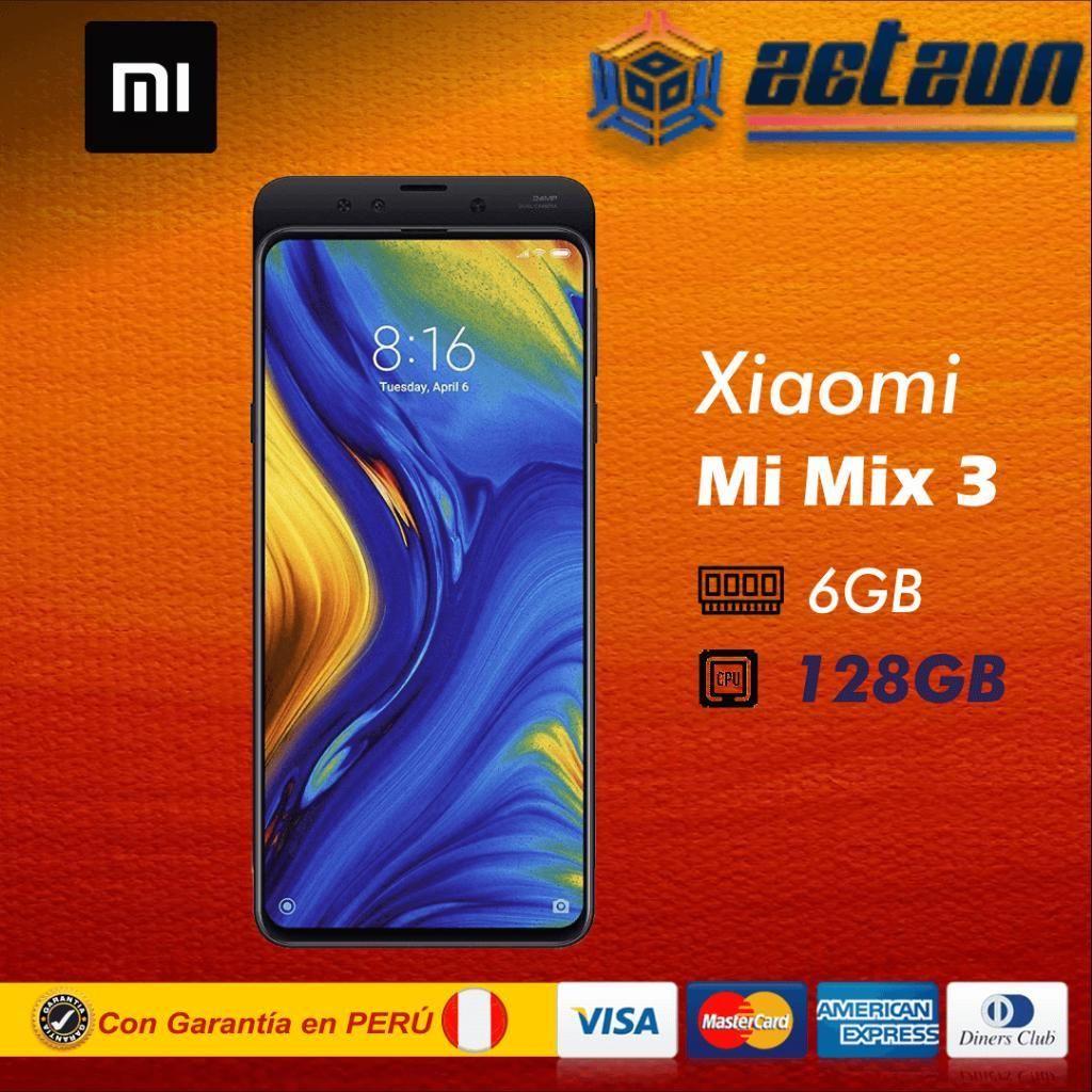 Xiaomi Mi Mix 3 6gb 128gb Negro Sellado
