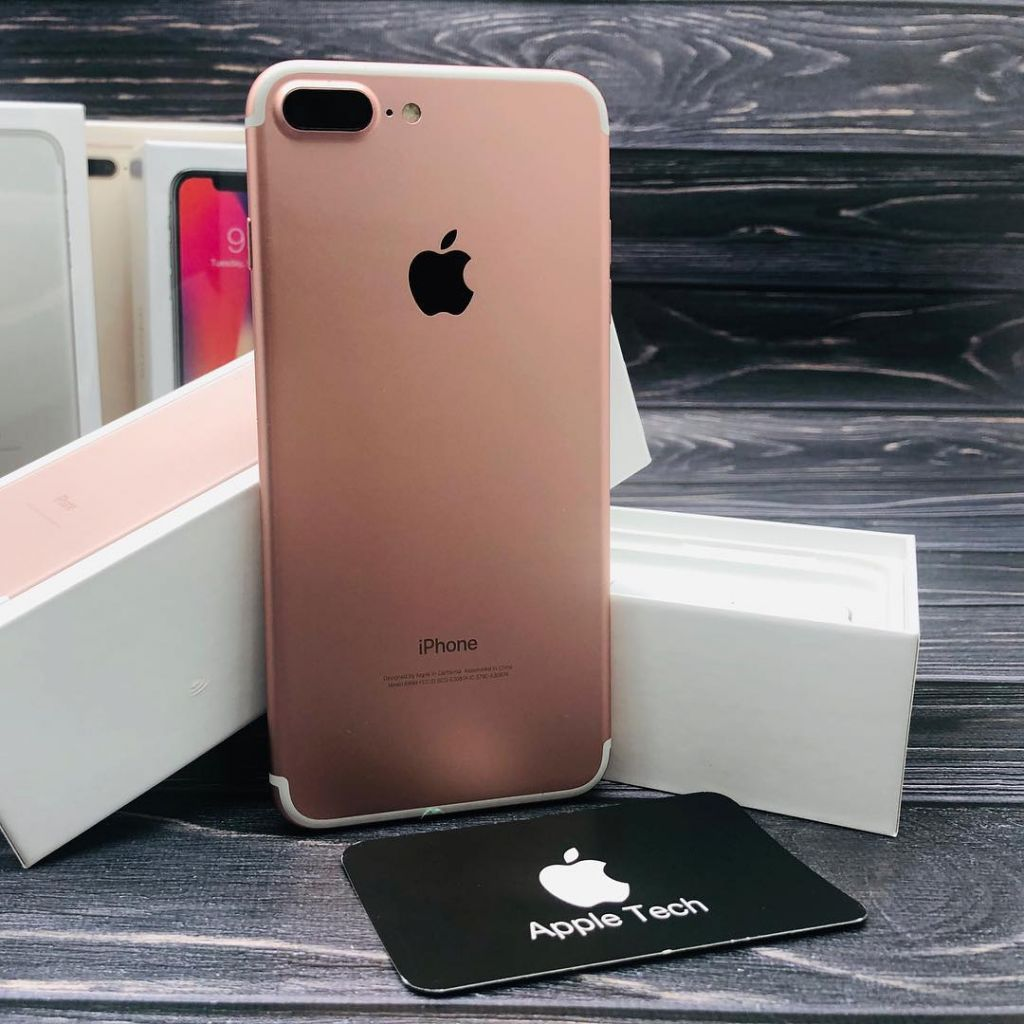 iPhone 7 Plus de 128gb Gold Flamante