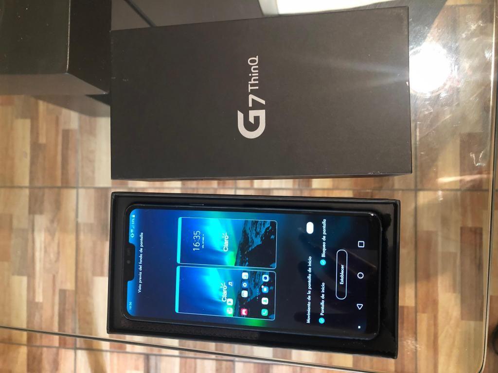 LG G7 THINQ 64GB Perfecto estado