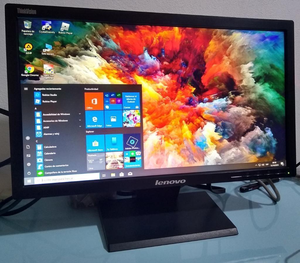 Monitor de 20 Pulgadas Lenovo Original