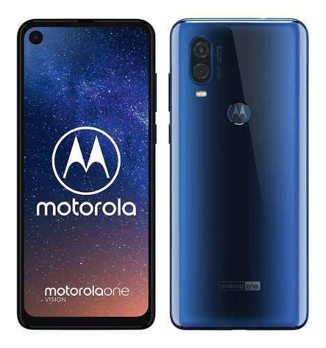Motorola One Vision 128gb 4gb Ram 48mp Usado / Tienda