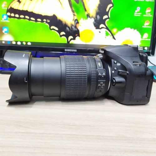 Camara Profesional Nikon D5200 24m + Lente Nikon 18 105mm
