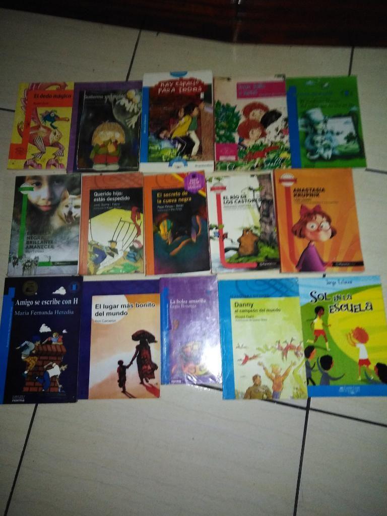 Libros Plan Lector Estudiantes