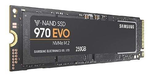 Disco Sólido Ssd M.2 22x80mm Samsung 970 Evo 256gb Pcie 3.0