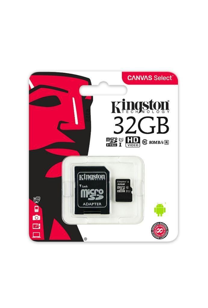 Memoria Micro Sd Kingston Canvas 32gb Cl