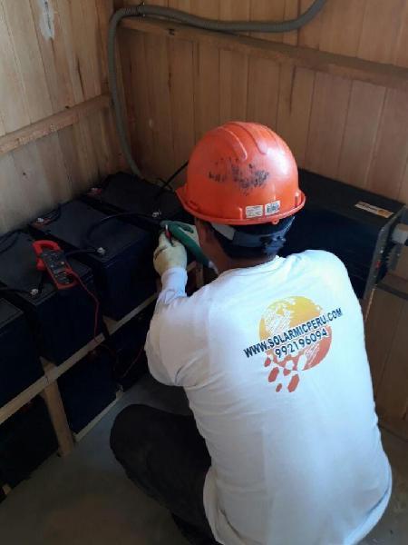 Proyectos de Energía Solar, Paneles, postes, iluminación